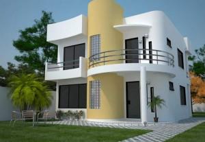 10 fachadas de casas modernas en barranquilla (4)